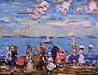 Beach Scene No. 4, c.1906, prendergast