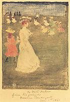 The Breezy Common, 1897, prendergast