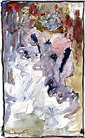 Can Can Dancer, c.1894, prendergast