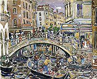 Canal, c.1912, prendergast