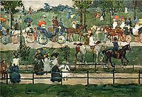Central Park, 1900, prendergast