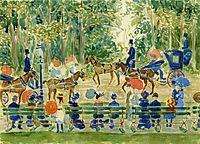 Central Park, 1901, prendergast