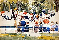 Central Park (also known as Central Park, New York City), c.1901, prendergast