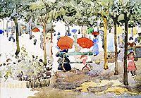 Central Park, c.1903, prendergast