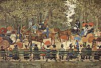 Central Park, New York, 1901, prendergast
