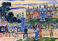 Edge of the Park, c.1915, prendergast