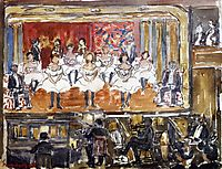 The End Men, prendergast