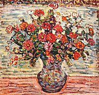 Flowers in a Vase, c.1913, prendergast