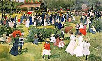 Franklin Park, Boston, c.1897, prendergast