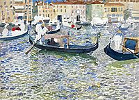 Grand Canal, Venice, c.1899, prendergast
