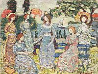 The Grove, 1915, prendergast