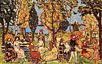 In the Park (also known as The Promenade), c.1916, prendergast