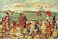 The Inlet, c.1913, prendergast