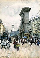 La Porte San Denis, prendergast