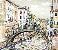 Little Bridge, Venice, c.1912, prendergast