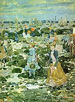 Low Tide, c.1897, prendergast