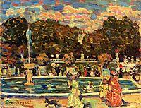 Luxembourg Gardens, c.1907, prendergast
