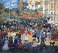 Madison Square, 1901, prendergast