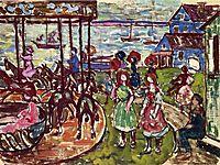 Merry Go Round, c.1913, prendergast
