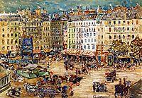 Montparnasse, 1907, prendergast