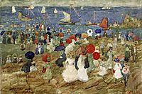 Nantasket Beach (also known as Handkerchief Point), 1896, prendergast