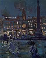 Paris, c.1907, prendergast