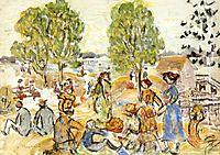 Picnic, 1923, prendergast