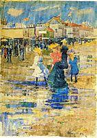 Revere Beach, 1896, prendergast