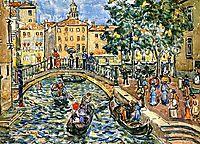 Scene of Venice, c.1912, prendergast
