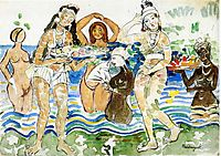 Sea Maidens, c.1913, prendergast