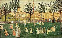Sienna, c.1899, prendergast