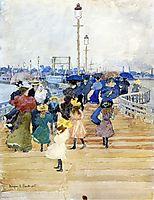 South Boston Pier (also known as Atlantic City Pier), 1896, prendergast