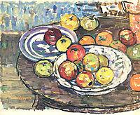 Still Life Apples Vase, 1915, prendergast