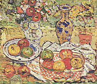 Still Life With Apples, 1915, prendergast