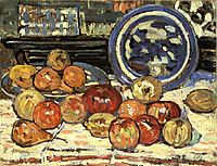 Still Life with Apples, c.1913, prendergast
