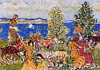 Summer Afternoon, c.1916, prendergast