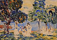 Summer Day, c.1910, prendergast