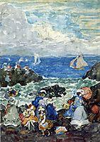 Surf, Nantasket, c.1905, prendergast