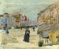 Venetian Scene, c.1899, prendergast