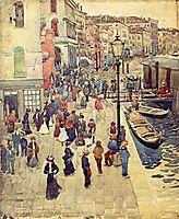 Venice, 1898, prendergast