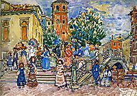 Venice, c.1912, prendergast