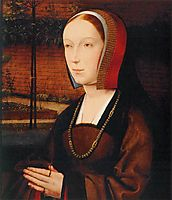 Portrait of a Female Donor, c.1505, provoost