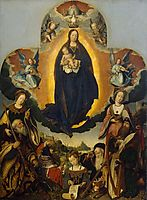 The Virgin Mary in Glory, 1524, provoost