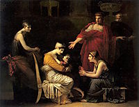 Andromache and Astyanax, c.1819, prudhon