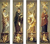 Arts, Wealth, Pleasure and Philosophy, c.1800, prudhon