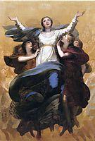 Assumption of the Virgin, prudhon