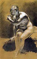 Bathing Venus, prudhon