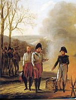 The conversation of Napoleon and Francois II , 1808, prudhon