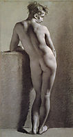 Female Nude from Behind, c.1800, prudhon