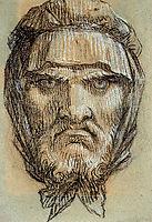 Head of Plutus, God of Wealth, prudhon